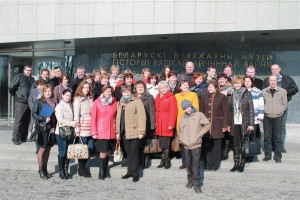 Шарковчане побывали в музее Великой Отечественной войны и на выставке «Изобретения да Винчи»