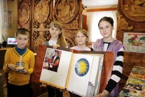 У Шаркаўшчынскай дзіцячай бібліятэцы рэалізуецца новы духоўна-інтэлектуальны праект «Час, які ніколі не скончыцца», прымеркаваны да 500-годдзя беларускага кнігадрукавання