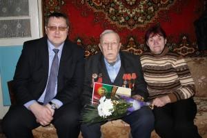 Юбилейную дату отметил ветеран Великой Отечественной войны Адольф Сигизмундович Василевский