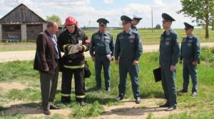 С 24 по 26 мая в Шарковщинском районе было проведено комплексное учение с органами управления и силами районного звена
