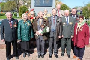 9 мая ў Шаркаўшчыне прайшоў урачысты мітынг, прысвечаны 72-ой гадавіне Перамогі ў Вялікай Айчыннай вайне