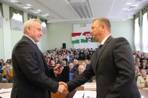 Старшынёй Шаркаўшчынскага раённага выканаўчага камітэта прызначаны Дзмітрый Міхайлавіч ЛАМАКА