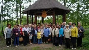 Группа туристов из Новополоцка познакомилась с достопримечательностями Шарковщинского края