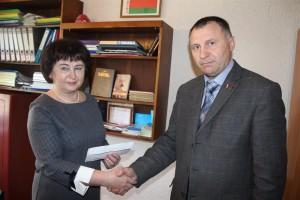 Оказана помощь Шарковщинскому районному центру коррекционно-развивающего обучения и реабилитации