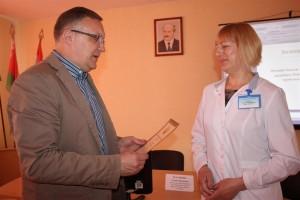 В Шарковщинской ЦРБ прошла областная научно-практическая конференция неврологов