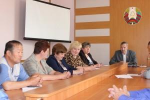 22 чэрвеня, у дзень памяці і смутку, адбылося пасяджэнне раённай арганізацыі КПБ