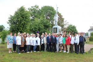 Международный проект «Сирень Победы» побывал сегодня в Лужках