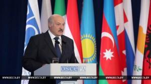 Тема недели: Летняя сессия ПА ОБСЕ в Минске