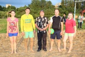 Стартовал районный чемпионат по пляжному волейболу