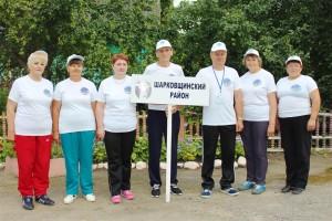 Шарковщинская команда стала самой спортивной на турслете для пожилых людей, который прошел в Поставском районе