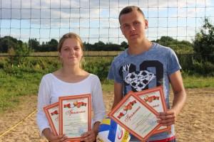 Завершился чемпионат Шарковщинского района по пляжному волейболу