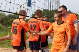 Межрегиональный «Кубок дружбы» по парковому волейболу прошел в Шарковщине