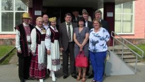 Шаркаўчане пабывалі на святкаванні 90-годдзя ўтварэння Пскоўскага раёна