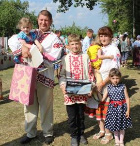 Семья Молоковых из агрогородка Бильдюги стала победителем районного этапа конкурса «Властелин села-2017»