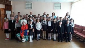 Дзень ведаў у Більдзюжскай сярэдняй школе