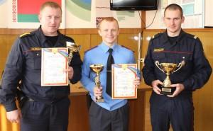 Шарковщинские милиционеры — победители областных соревнований