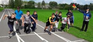 Прошли соревнования по легкоатлетическому четырехборью «Школиада» среди учащихся общеобразовательных школ района