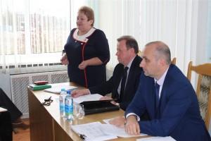 20 кастрычніка на базе Шаркаўшчынскай раённай ветэрынарнай станцыі адбылася абласная нарада