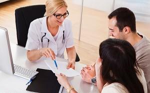 Порядок обращения пациента в районную поликлинику