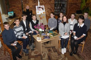 125-годдзю Марыны Цвятаевай была прысвечана літаратурная арт-гадзіна ў Шаркаўшчынскай дзіцячай бібліятэцы