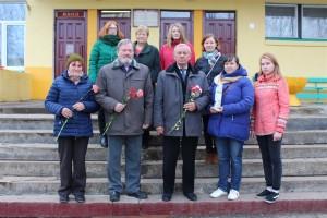 28 октября в средней школе № 1 горпоселка прошло мероприятие, посвященное 100-летию Октябрьской революции