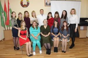 В Шарковщинской ЦРБ прошло посвящение в профессию молодых специалистов