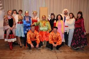 25 декабря районный Центр культуры пригласил шарковчан на театрализованное представление «Морозко»