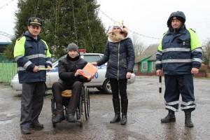 Сотрудники ГАИ Шарковщинского РОВД провели акцию «Безопасность превыше всего»