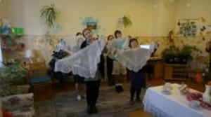 «Рождественские посиделки» в отделении дневного пребывания для граждан пожилого возраста ТЦСОН