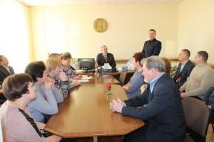 12 студзеня адбылося чарговае пасяджэнне раённай арганізацыі Камуністычнай партыі Беларусі