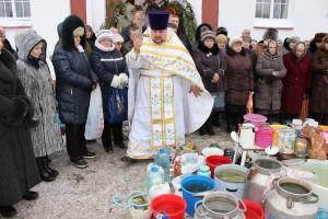 19 студзеня праваслаўныя вернікі адзначаюць Вадохрышча