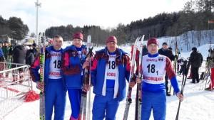 Каманда Шаркаўшчынскага раёна прыняла ўдзел у абласным культурна-спартыўным свяце «Віцебская лыжня»