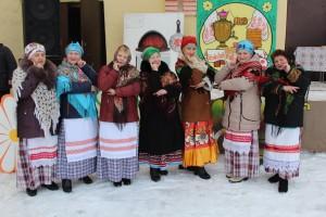 Театрализованное народное гуляние «Широкая масленица» прошло сегодня в Шарковщине