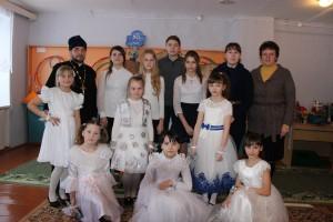 С кукольным театром «Батлейка» ученики Великосельской средней школы посетили Шарковщинский коррекционно-развивающий центр и отделение дневного пребывания для инвалидов ТЦСОН