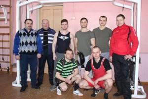 24 февраля в нашем городском посёлке впервые  прошёл Чемпионат  Шарковщинского района по становой тяге и многоповторному жиму штанги лёжа.