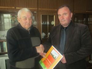 Віншаванні з юбілеем прымаў Георгій Андрэевіч Латышонак