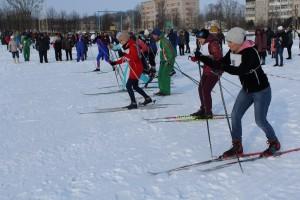 Фотарэпартаж з зімовага спартыўнага свята «Шаркаўшчынская лыжня—2018»