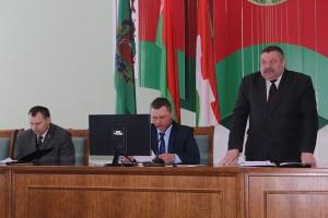 5 марта прошла первая сессия Шарковщинского районного Совета депутатов 28-го созыва