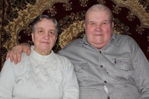 Пачуццё залатое — адно на дваіх: Сямён Пятровіч і Зоя Міхайлаўна Пачопкі адзначылі сямейны юбілей