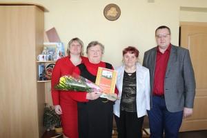 8 красавіка юбілей адзначыла шаркаўчанка Вера Савельеўна Захарава