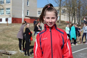 Перспективная юная спортсменка — Надежда Бильдюга