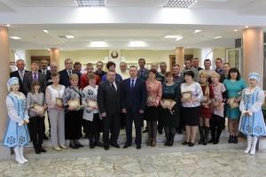 26 красавіка прайшло ўрачыстае адкрыццё раённай Дошкі гонару
