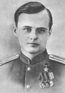 Верны сын сваёй Айчыны — камандзір партызанскай брыгады імя Варашылава Фёдар Маркаў.