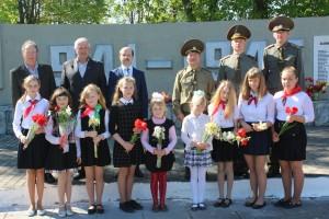 Накануне 9 мая в аг. Иоды прошел торжественный митинг, посвященный Дню Победы