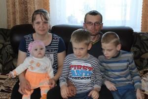Счастливая семья Светланы и Николая Дорощенков