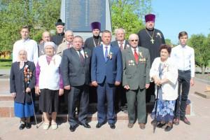 9 мая ў Шаркаўшчыне прайшоў урачысты мітынг, прысвечаны 73 гадавіне Перамогі ў Вялікай Айчыннай вайне