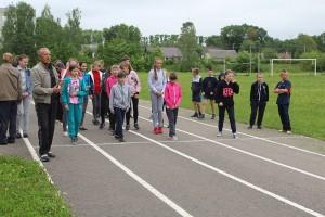В день работников физической культуры и спорта прошло первенство Шарковщинской ДЮСШ по лёгкой атлетике