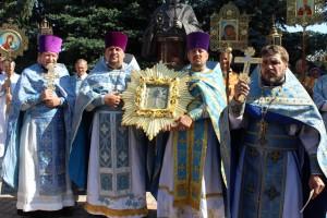 У Шаркаўшчыне сустрэлі Жыровіцкую ікону Божай Маці