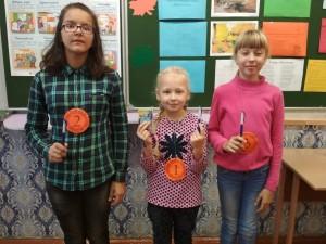 Во время каникул в Шарковщинской СШ №1 работал лагерь «Рыжая осень»