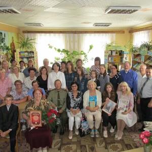Адбылася прэзентацыя чарговай кнігі Людмілы Ардынскай «Вечны агонь»